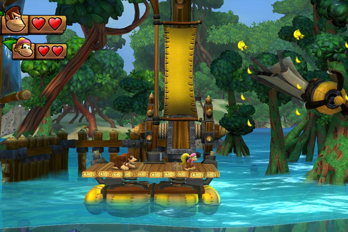 donkey kong country themes