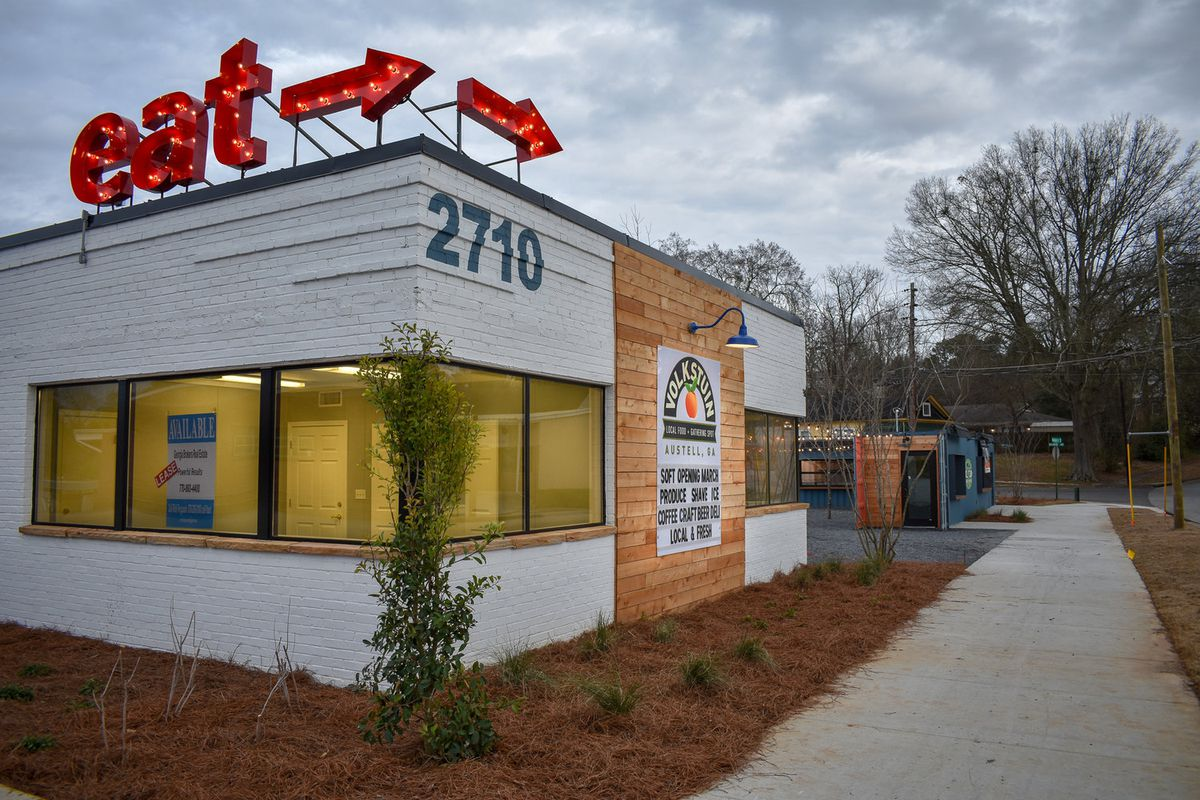 Cobb County's first shipping container development has