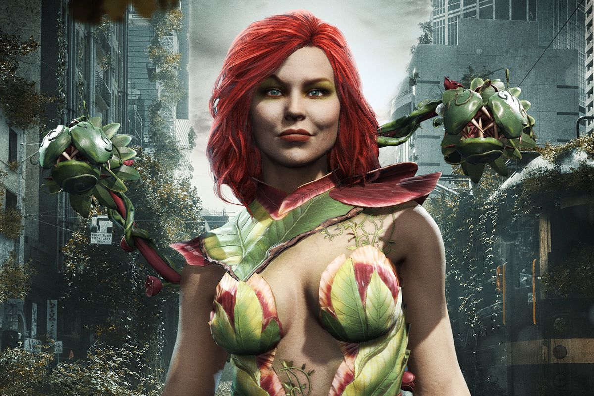 Artwork of Poison Ivy in Injustice 2 Mobile