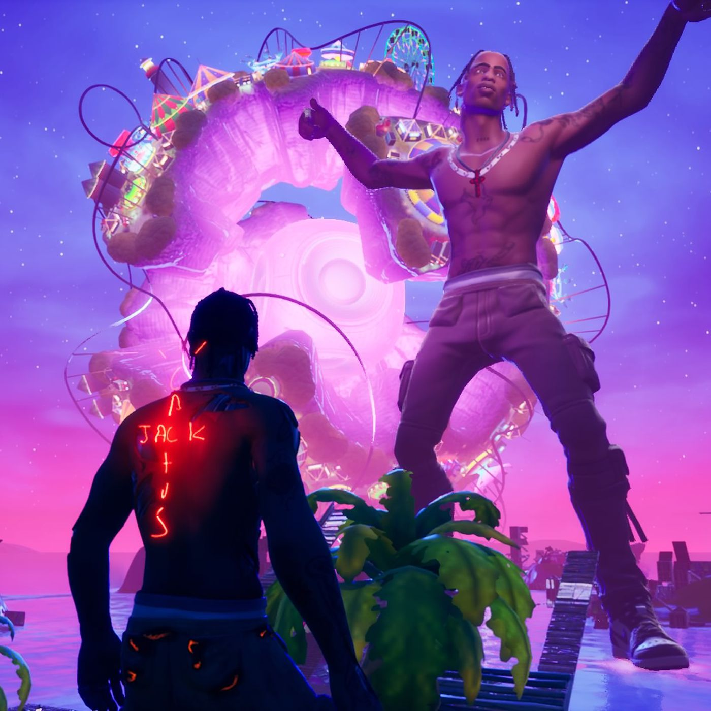Travis Scott S First Fortnite Concert Was Surreal And Spectacular The Verge