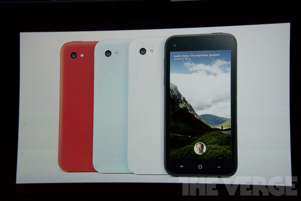 HTC and Facebook announce the First smartphone with AT&T