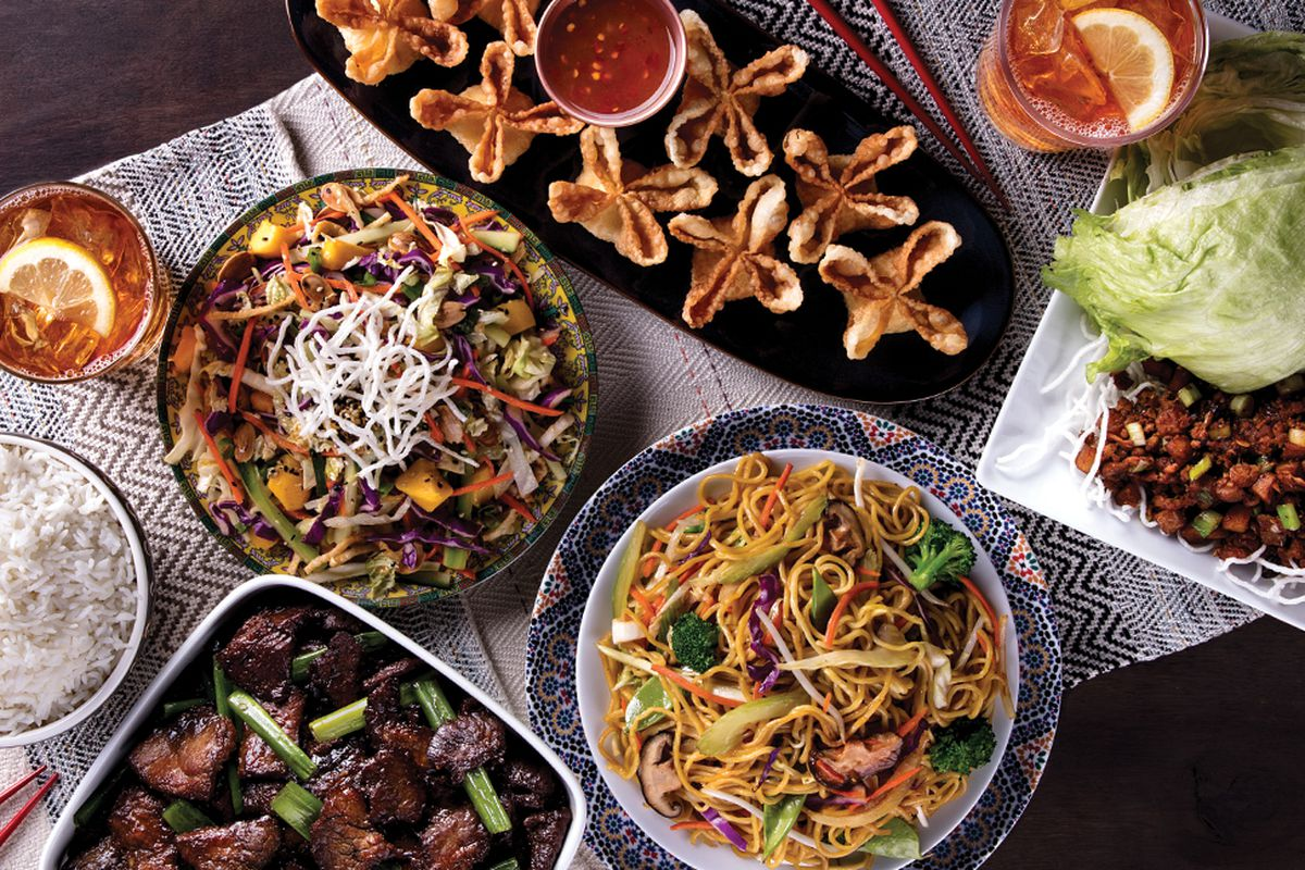 P.F. Chang's dishes