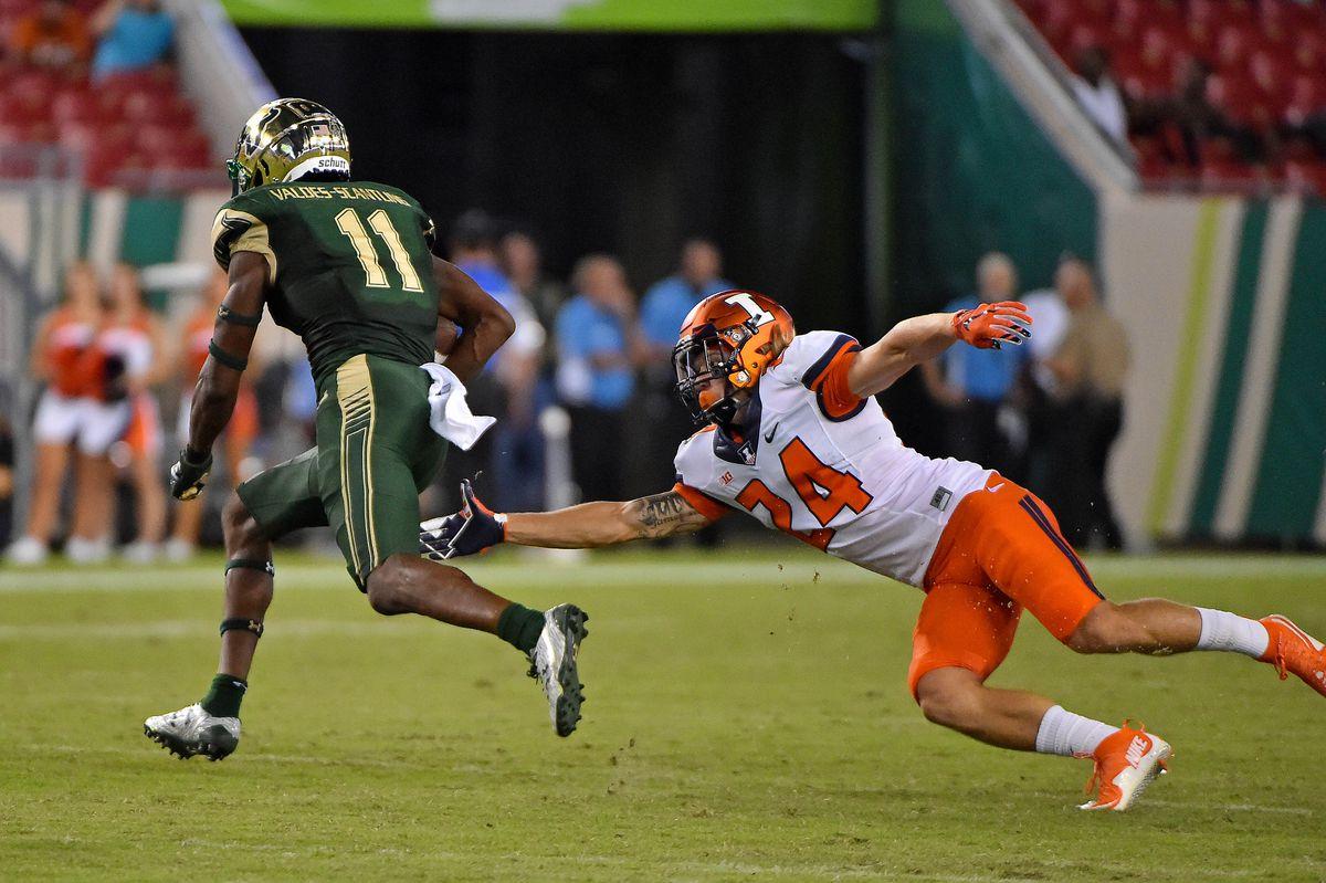 NCAA Football: Illinois at South Florida