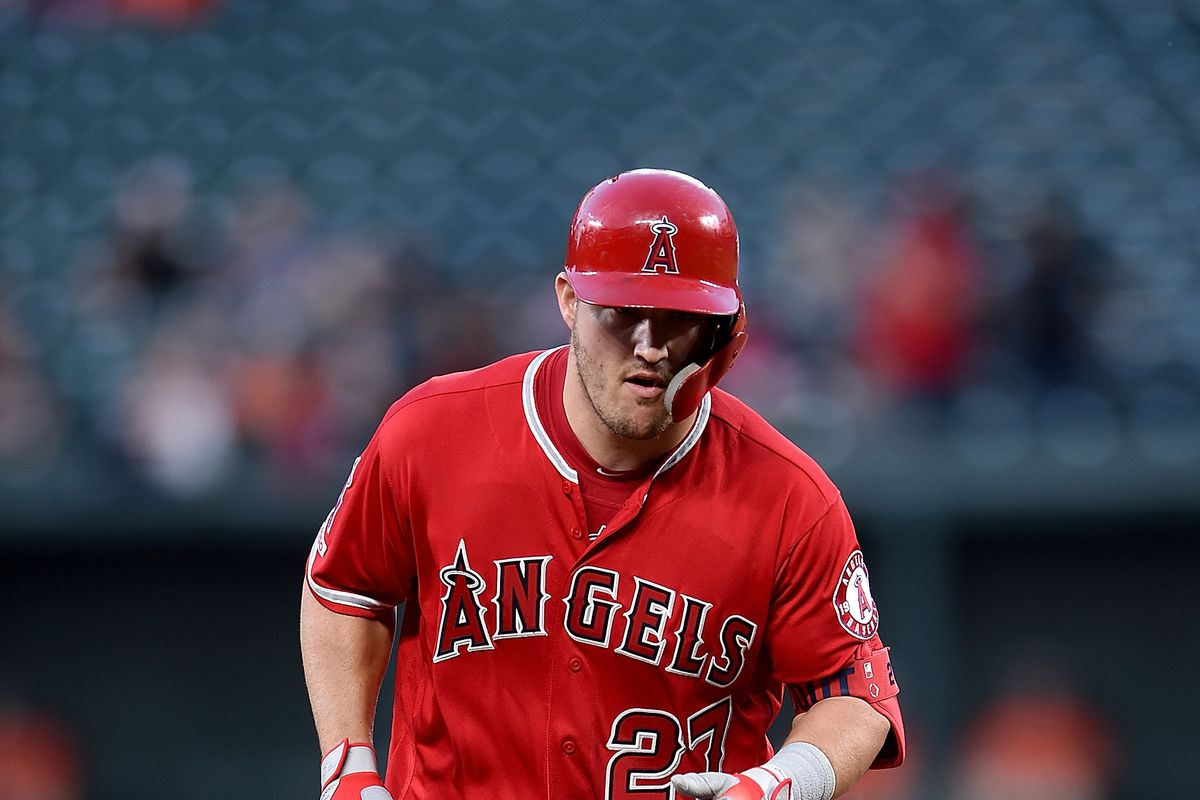 Mike Trout breaks out of a slump in a fury and makes his ...