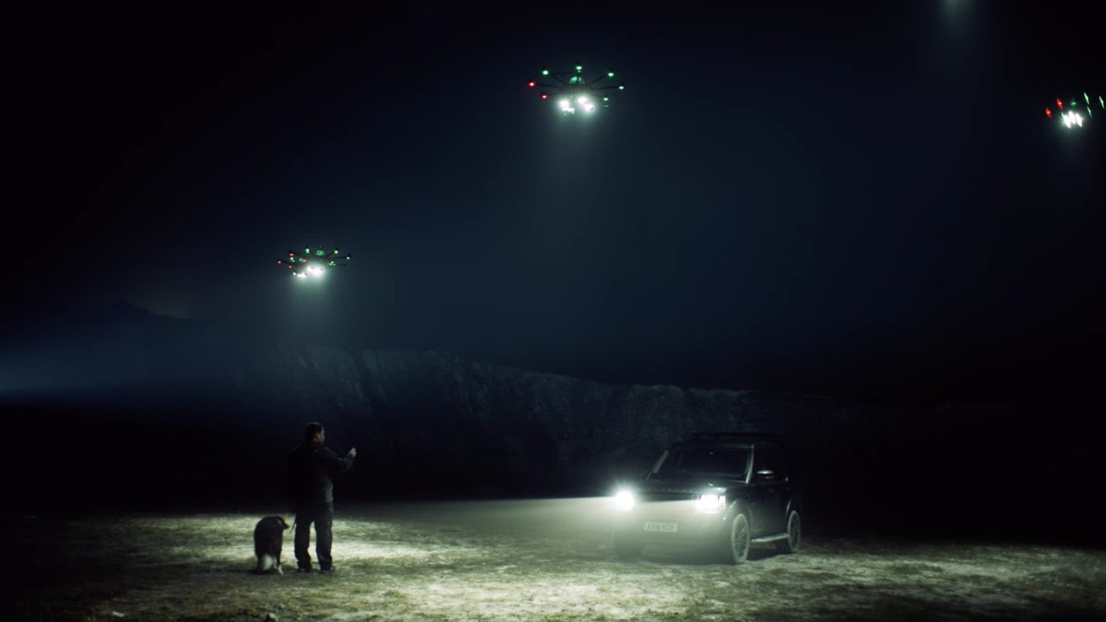 These On Demand Drone Lights Are A Clever Idea The Verge