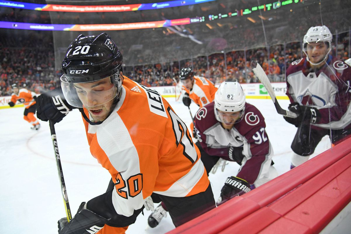 Flyers vs. Avalanche  10 things we learned from a the season s first ... dec897e9c