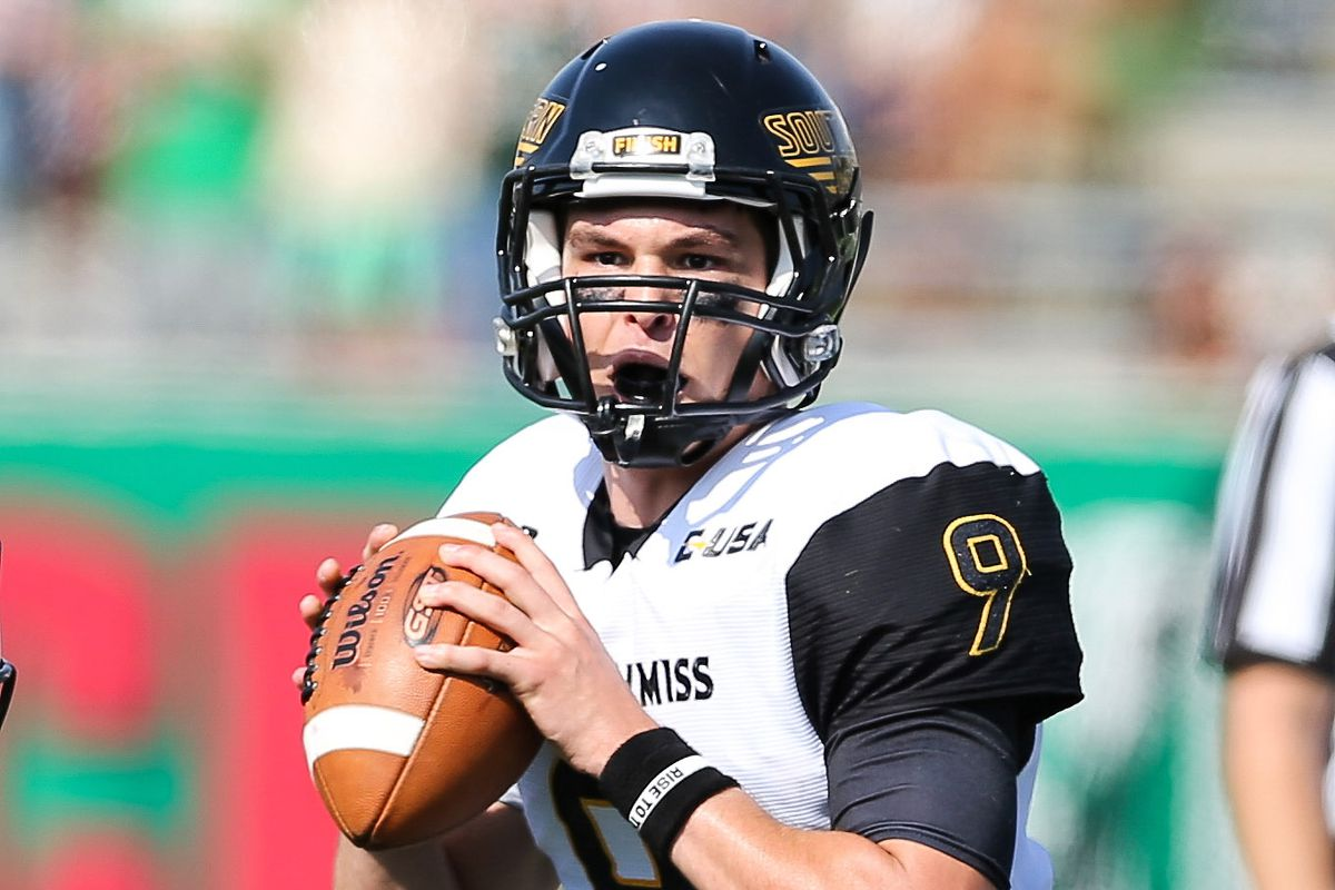 Nick Mullens has passed for over 2500 yards and 21 touchdowns this season as Southern Miss is one win from bowl eligibility
