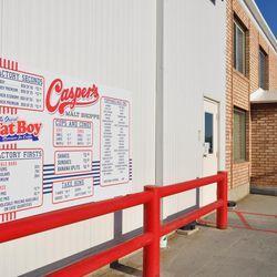 Casper's Ice Cream in Richmond offers a variety of ice cream and frozen treats.