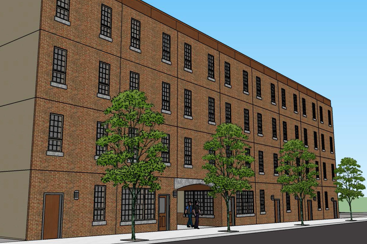 Studio Apartment Building 49 studio apartments proposed for south kensington lot - curbed philly