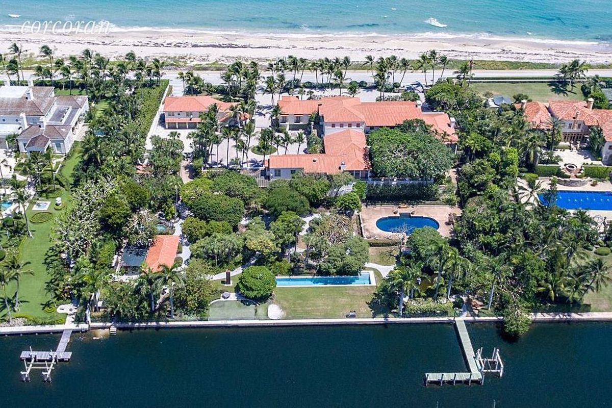 Oceanfront Palm Beach compound asks $46M - Curbed Miami