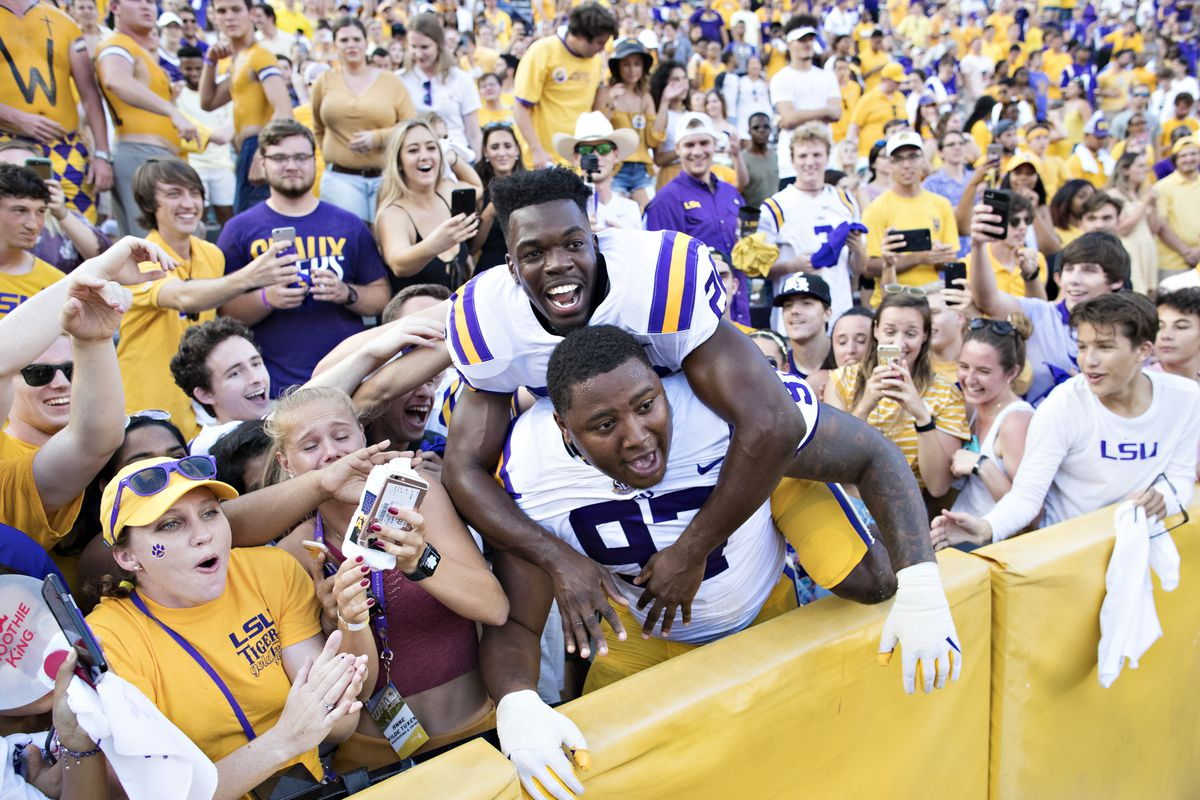 Here S To 20 Years Of Beating Auburn In Tiger Stadium And