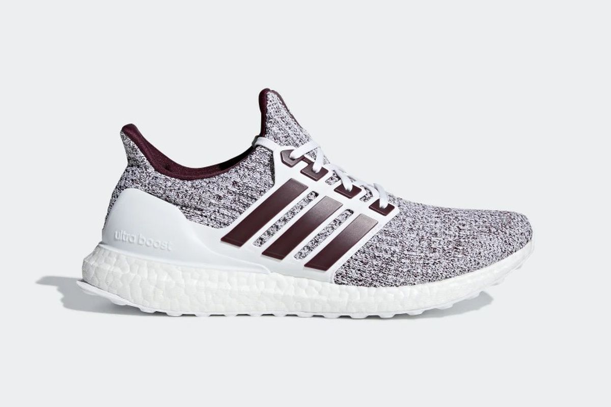 3a4f92bd1afdb Texas A M Ultraboost 4.0 drops Dec. 2 - Good Bull Hunting