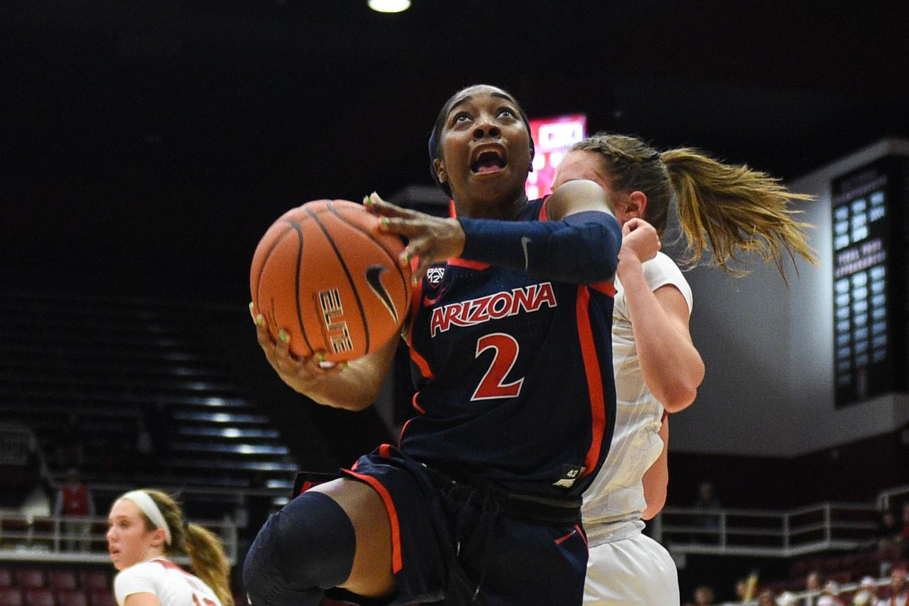 COLLEGE BASKETBALL: FEB 22 Women's Arizona at Stanford