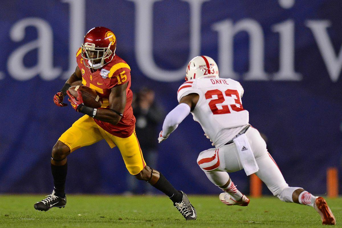72a5fe7d4e9 2015 NFL Draft Profile: Nelson Agholor, USC wide receiver - Bleeding ...