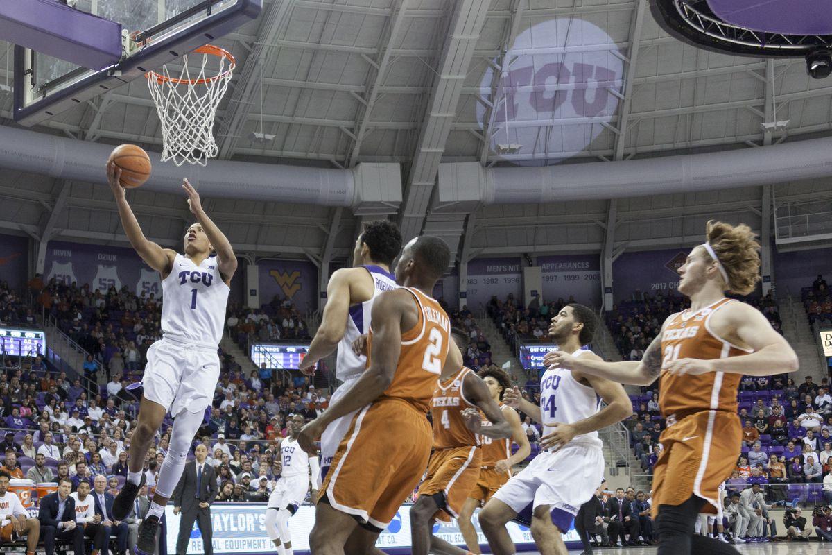 TCU Basketball vs Texas 2.10.18