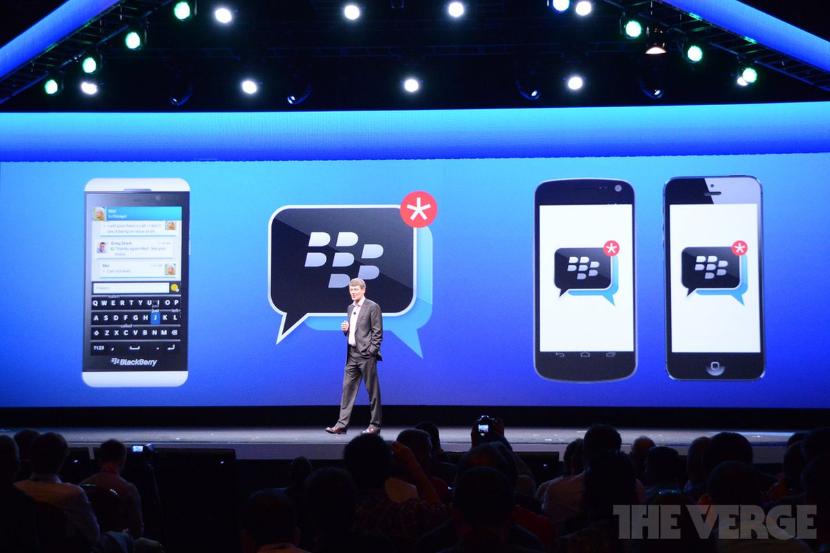 BlackBerry bringing BBM to Android and iOS this summer ...