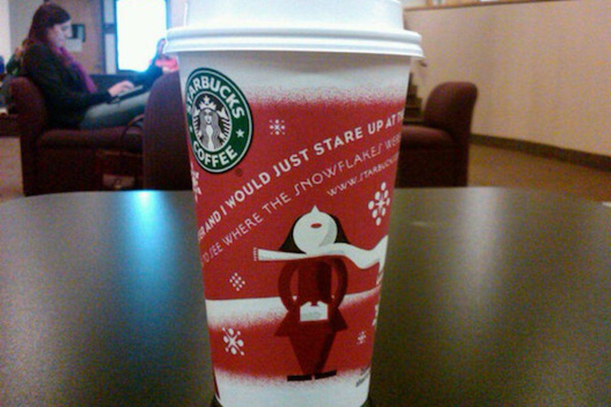Starbucks says it's Christmas time now.