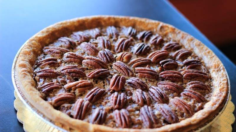 Pecan pie at Quack's