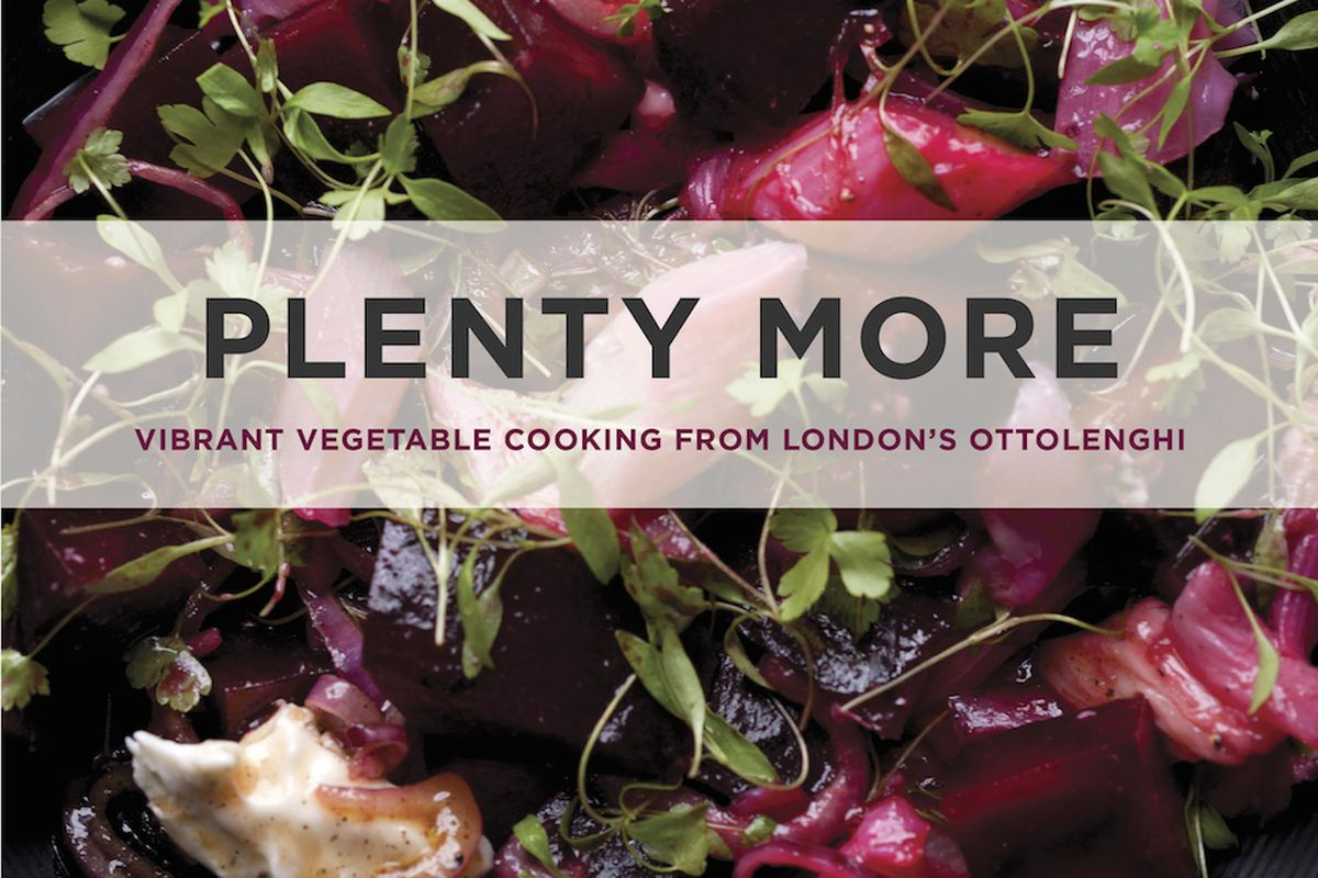 Ottolenghi The Cookbook Cover Recipe ~ Here s the cover to yotam ottolenghi s plenty more eater