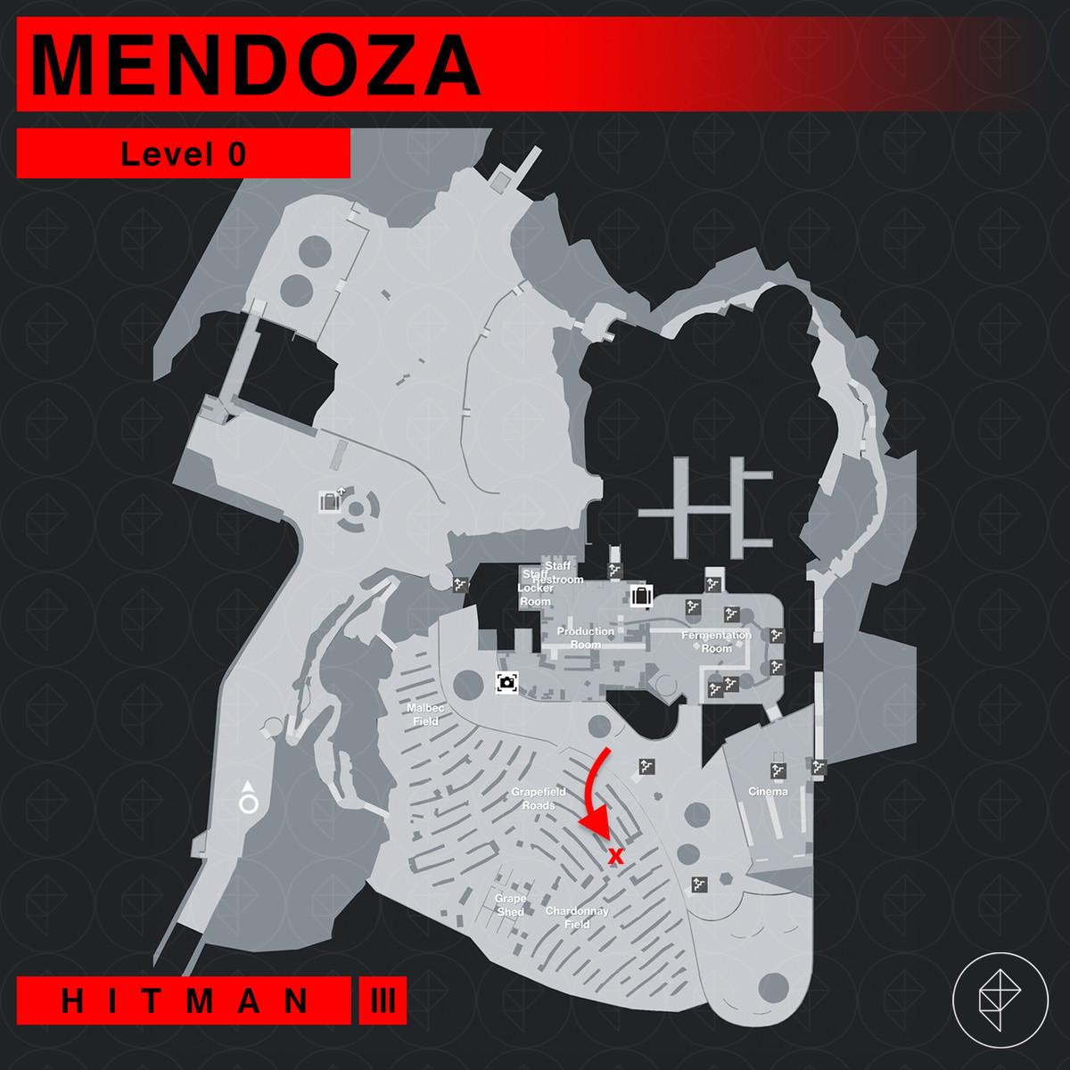 Hitman 3 Mendoza The Farewell The Tour Mission Story walkthrough