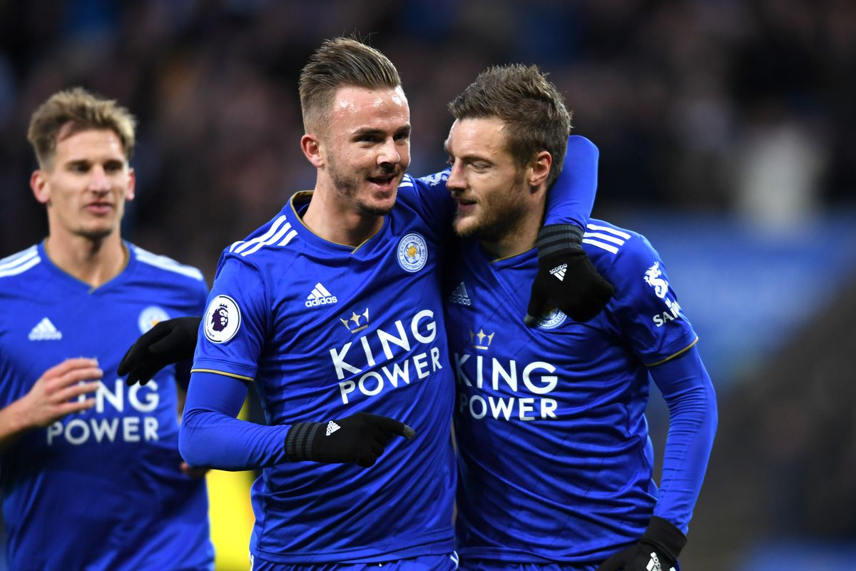 c5f53732796 James Maddison and Jamie Vardy take center stage this week. Photo by Ross  Kinnaird/Getty Images