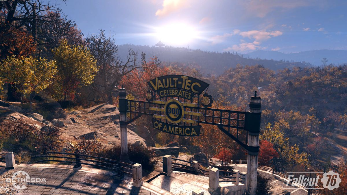 vault 76 entry in Fallout 76