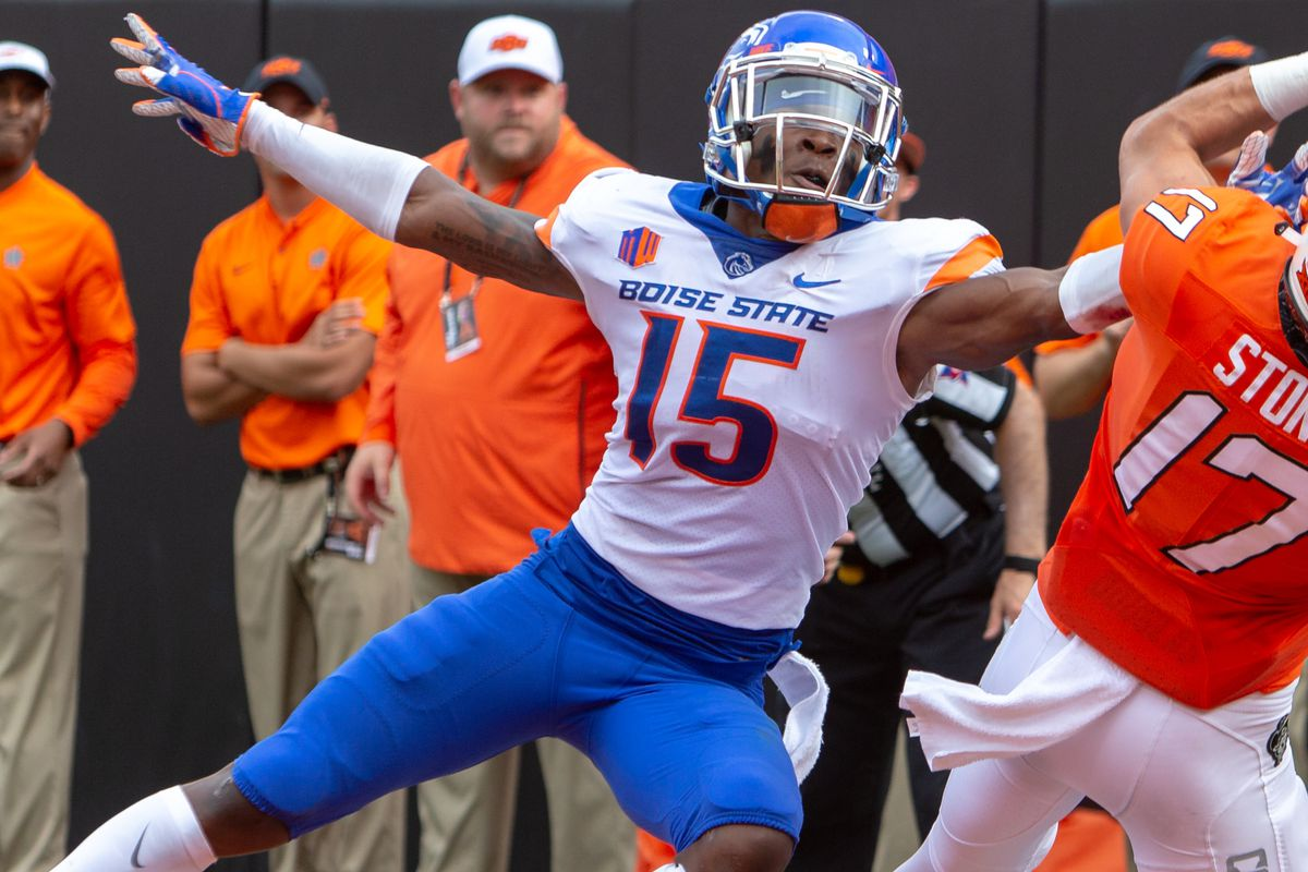 COLLEGE FOOTBALL: SEP 15 Boise State at Oklahoma State