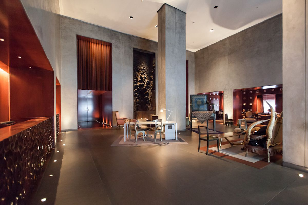 Hotels In Boston >> Inside the Philippe Starck-Designed CLIFT Hotel - Curbed SF