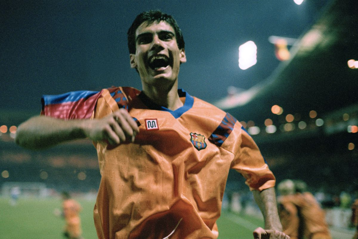 Pep Guardiola Joy 1992