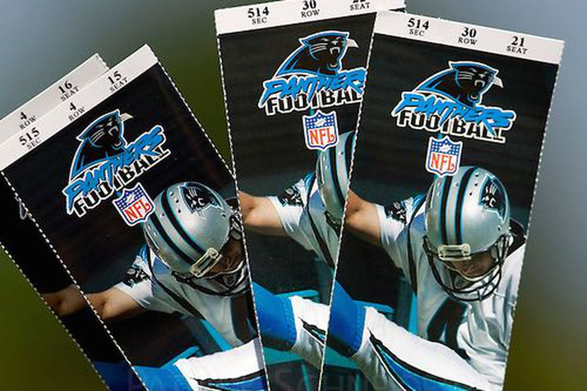 Carolina Panthers now 9th in NFL in average ticket price Cat