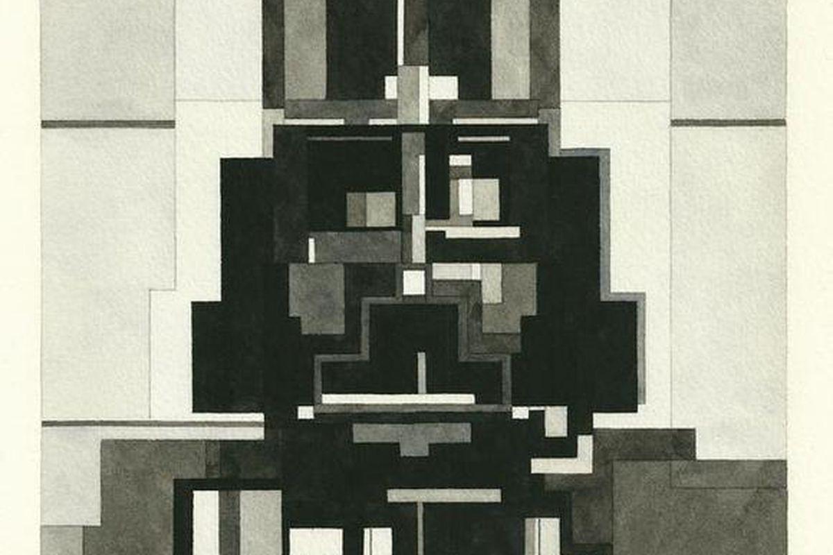 Adam Lister's geometric artwork.