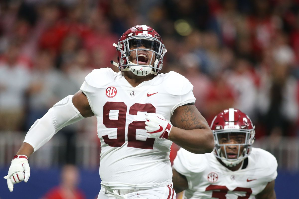 Quinnen Williams wins Outland Trophy - Roll 'Bama Roll