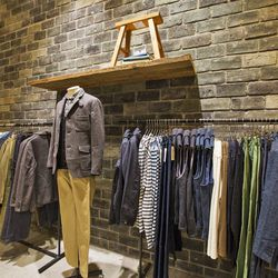 """Another US first: this store carries MUJI Labo, which is """"a clothing line that infuses the simplicity and practicality of MUJI's stationery and lifestyle goods into clothing, with attention to detail for comfort and functionality."""""""
