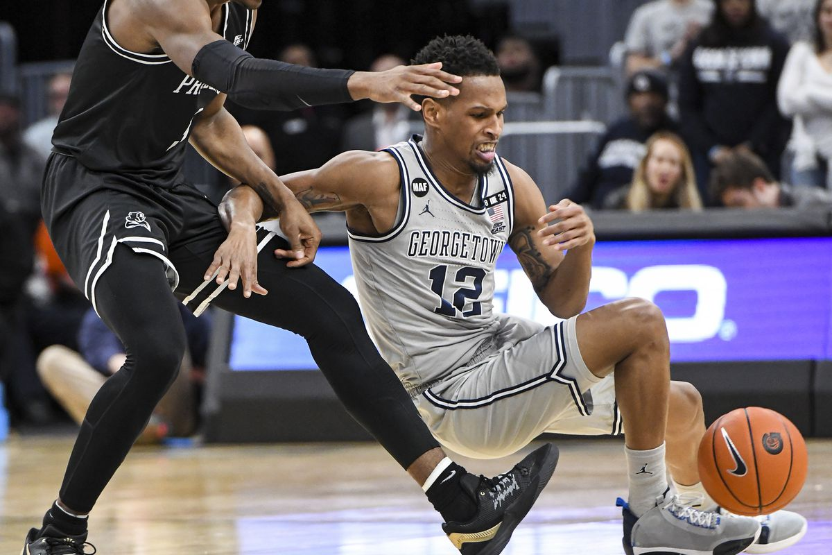 COLLEGE BASKETBALL: FEB 19 Providence at Georgetown