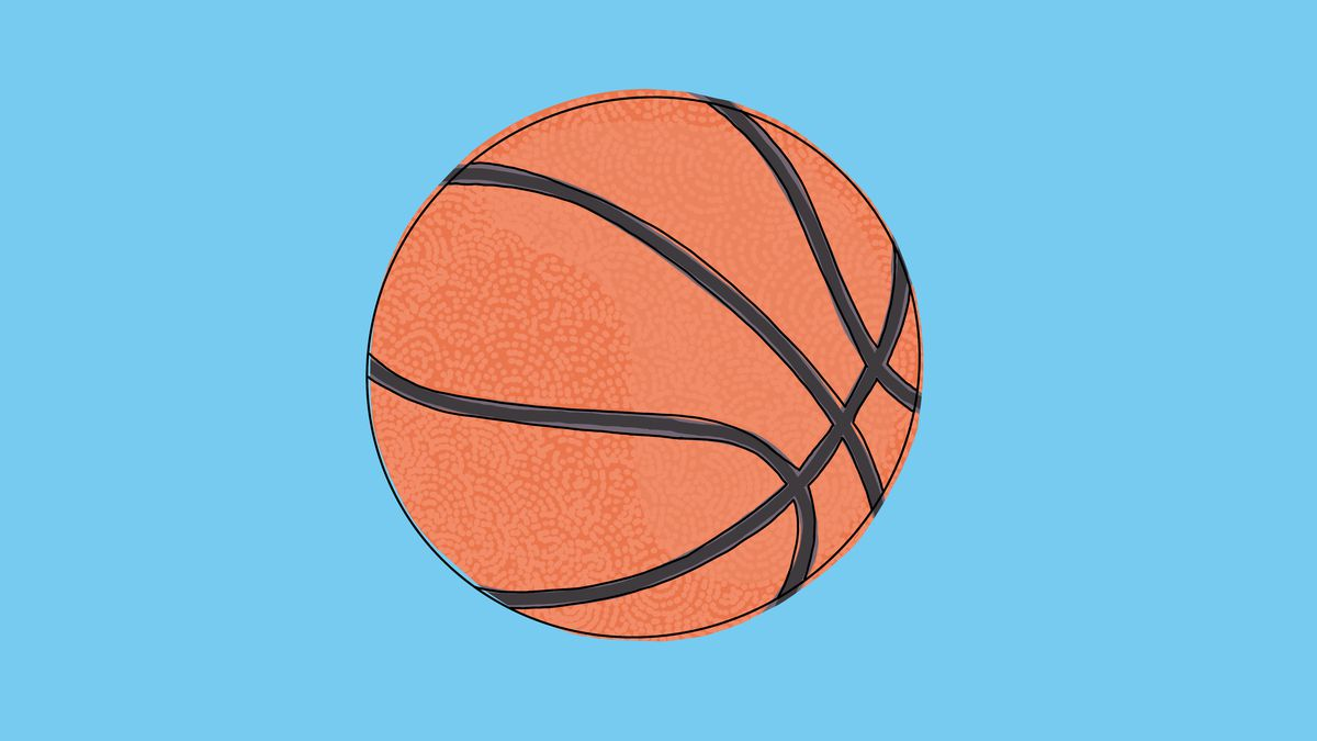 An illustration of a basketball.