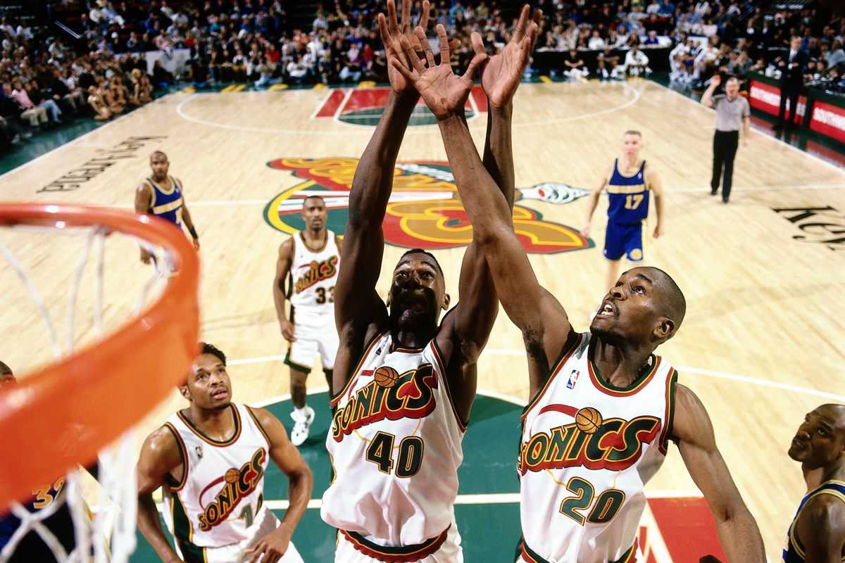 Sam Forencich/NBA. The Seattle Sonics ...