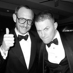 Terry Richardson and a funny-faced Channing Tatum.