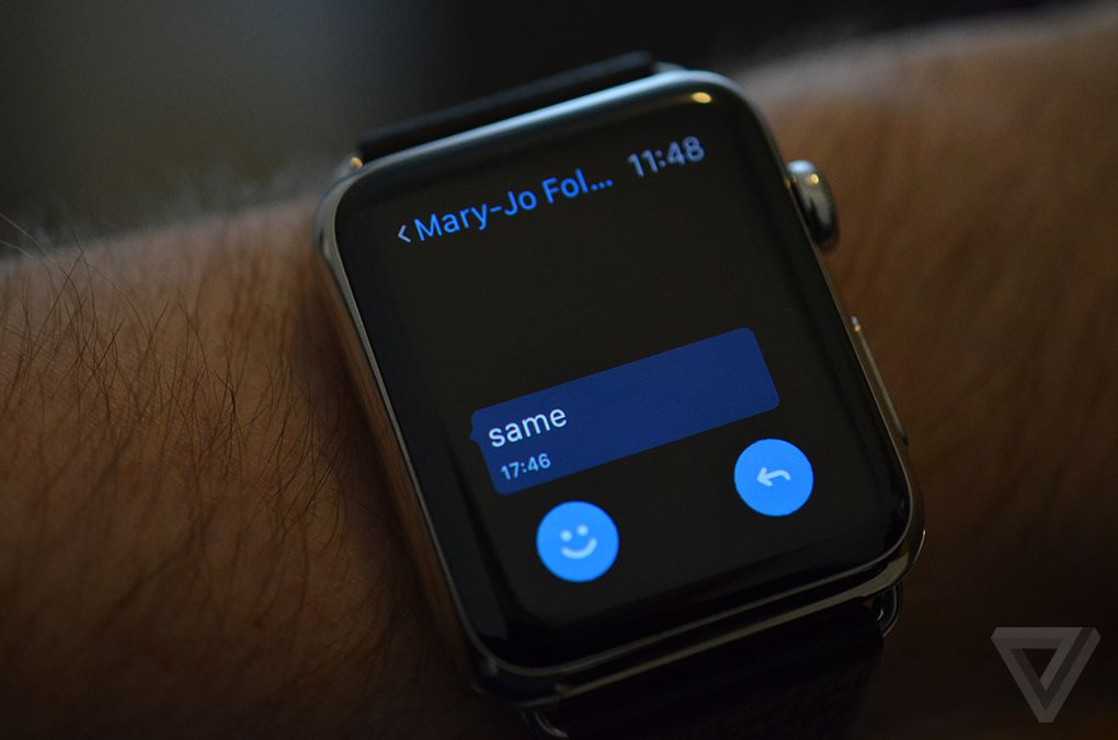 A closer look at Microsoft's Apple Watch apps | The Verge