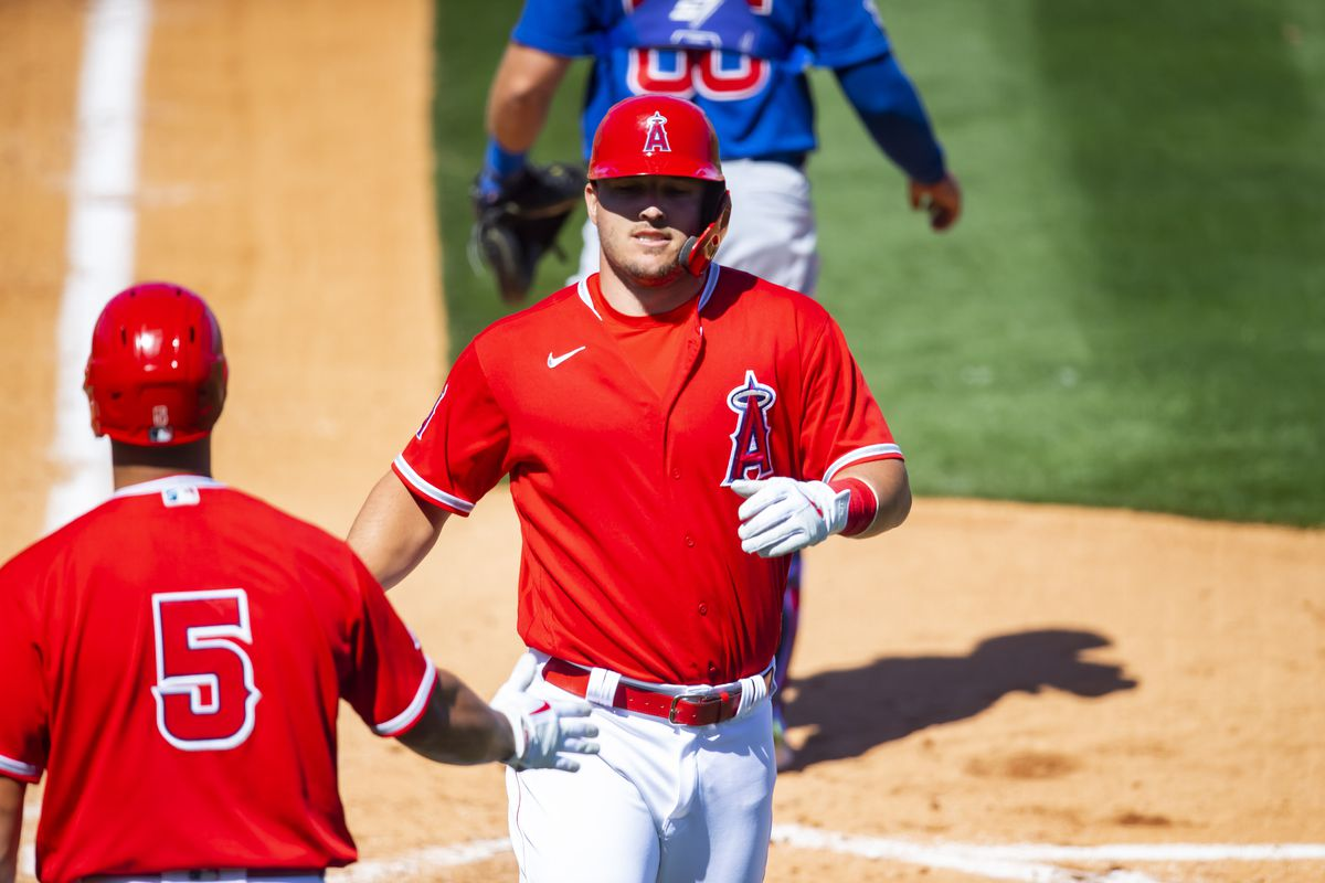 MLB: Chicago Cubs at Los Angeles Angels