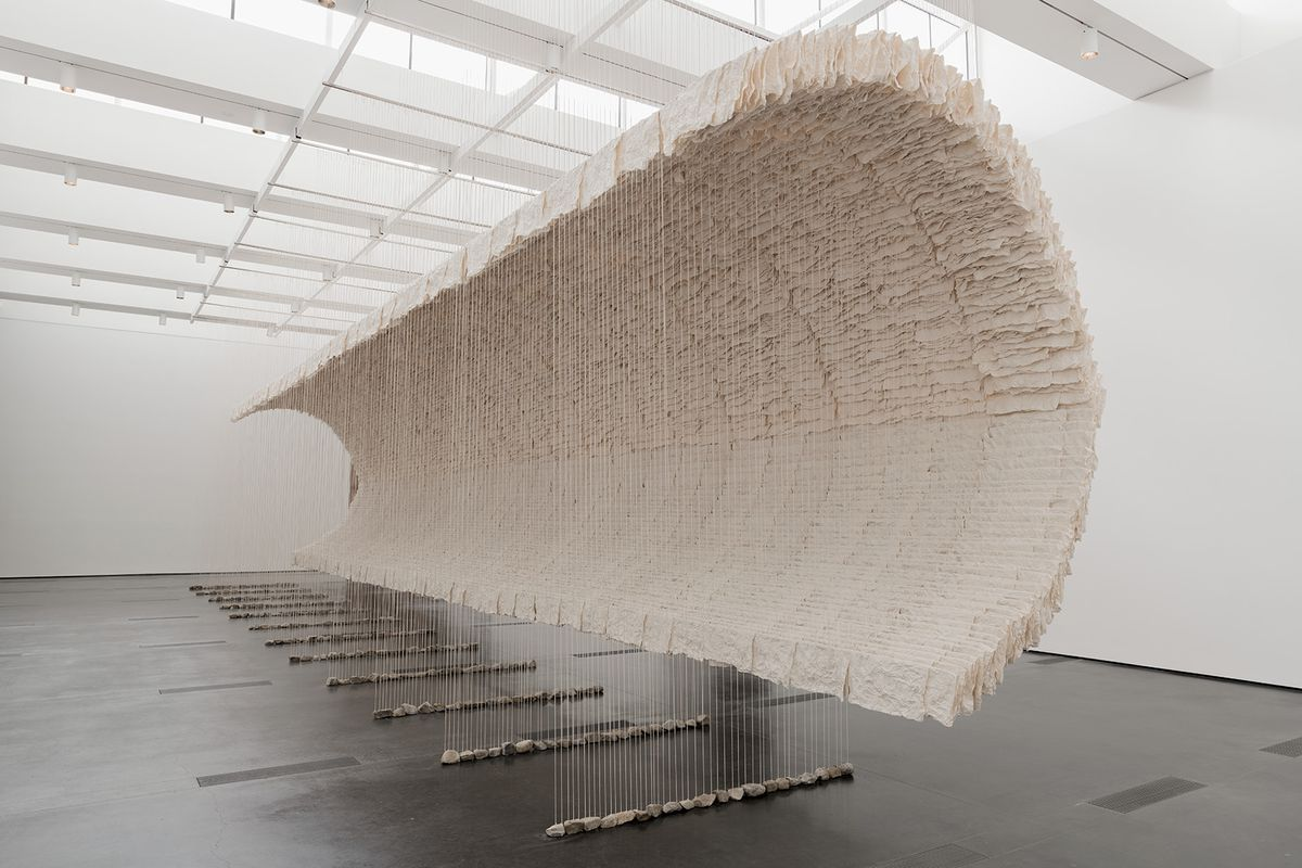 Gift of Zhu Jinshi and Pearl Lam Galleries in honor of Wu Hung, jointly acquired by the Los Angeles County Museum of Art and the Smart Museum of Art at the University of Chicago. Installation view at the Los Angeles County Museum of Art