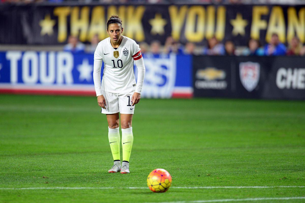 Carli Lloyd Named Us Female Soccer Player Of The Year Dynamo Theory