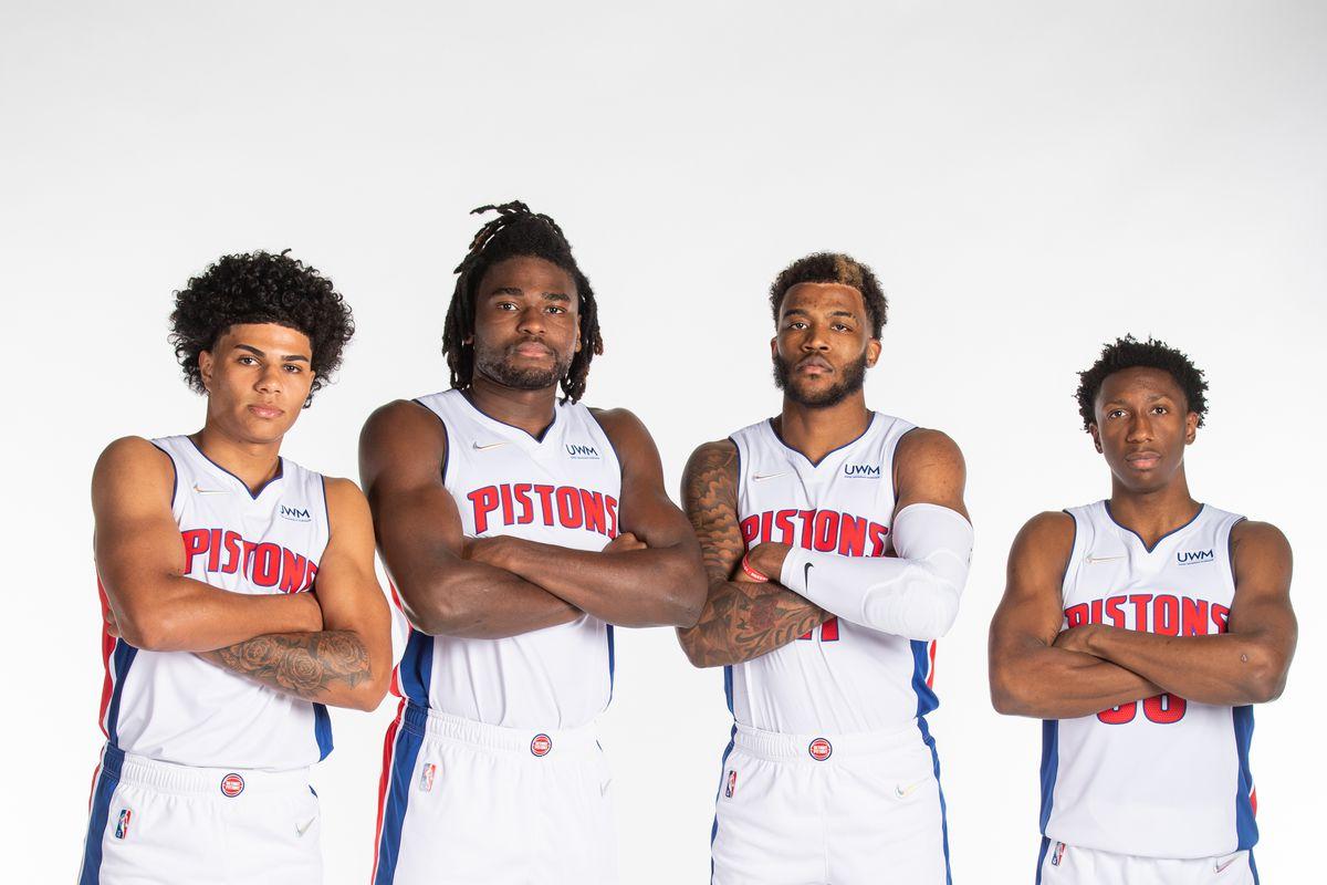2021-22 Detroit Pistons Media Day