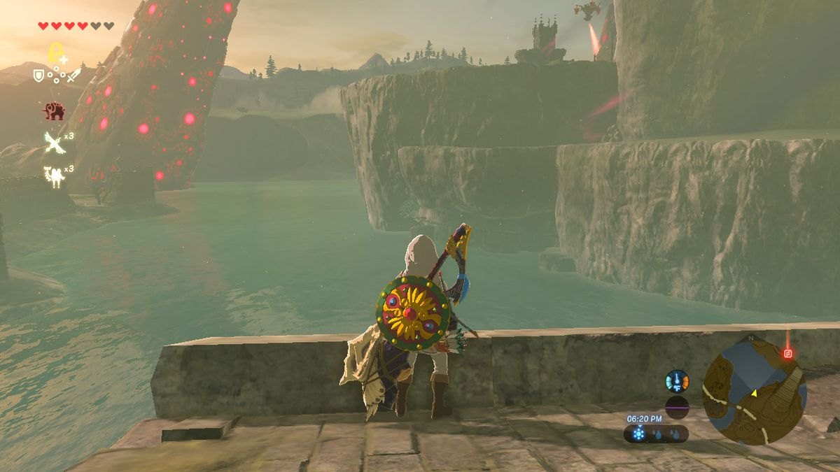 Zelda Breath Of The Wild Guide How To Get The Hylian Shield Polygon