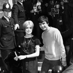 While an untraditional choice, the simple black shift Catherine Deneuve wore to sign wedding papers with David Bailey on October 18th, 1965 is undeniably chic.
