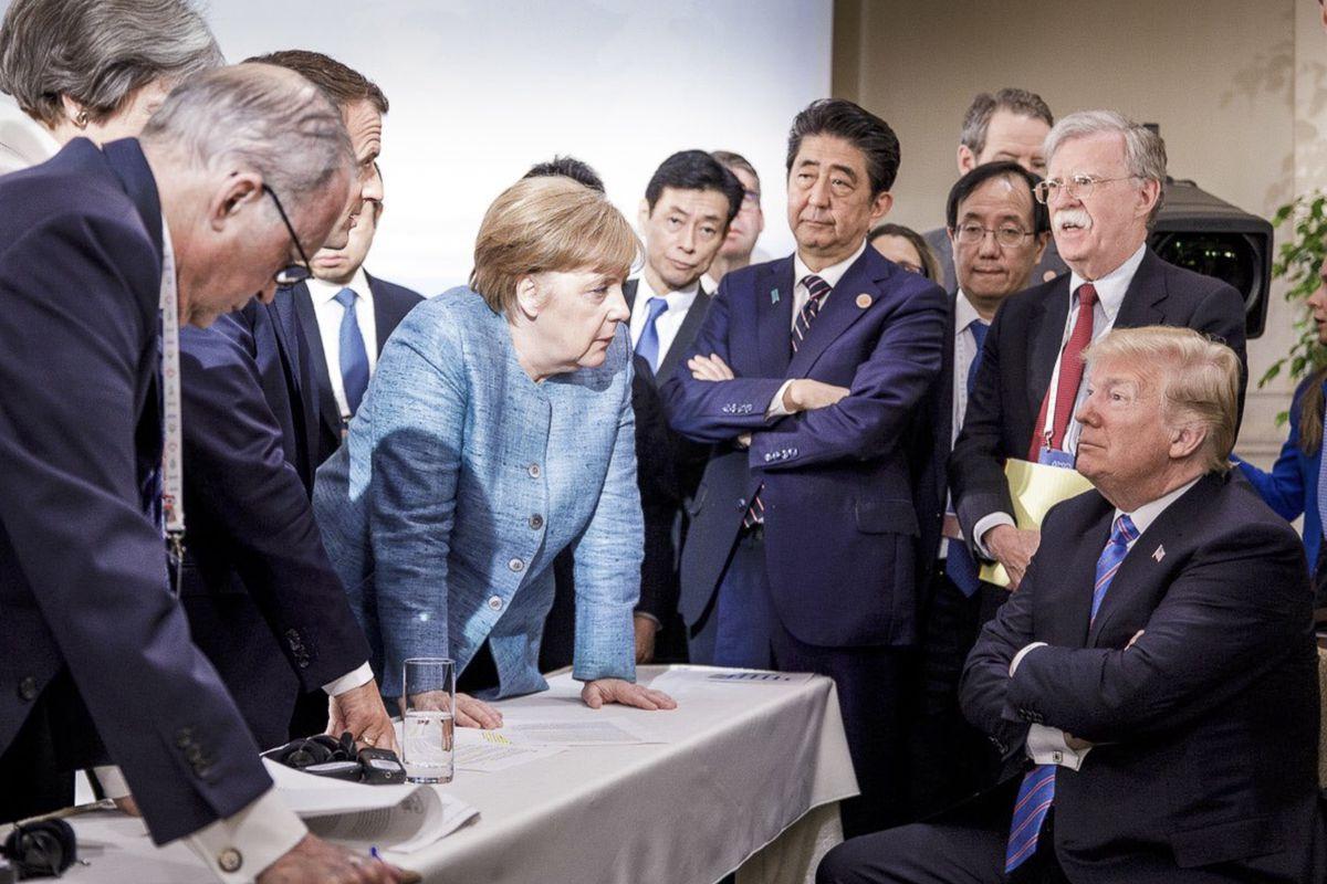 Картинки по запросу trump G7 canada