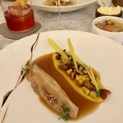 Chicken, sweetcorn and buckwheat