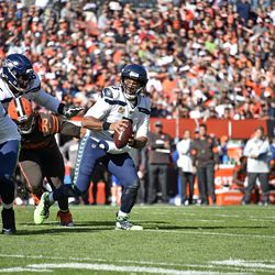 October 2019: If there is one game that Browns fans would love to have back, it's this Week 6 home loss to the Seattle Seahawks. The Browns led 20-6 early in the second quarter, before Seattle scored 19 unanswered to take a 25-20 lead mid-way through the third quarter. The Browns were put ahead again by a Nick Chubb touchdown run in the fourth quarter, but Seattle went back ahead 32-28 with 3:30 to go in the game. The Browns' attempt to come back was ended when a pass went off the hands of RB Dontrell Hilliard for an interception, dropping the Browns to 2-4.
