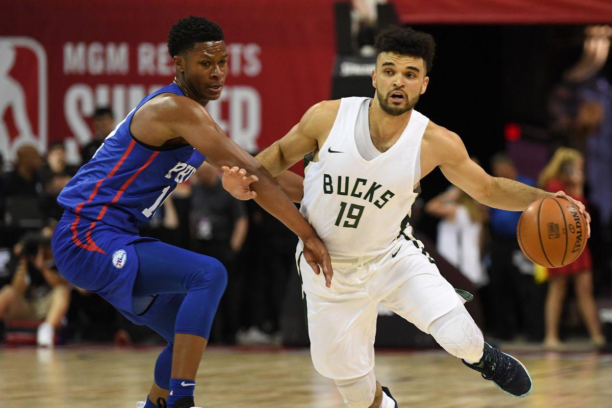 NBA: Summer League-Philadelphia 76ers at Milwaukee Bucks