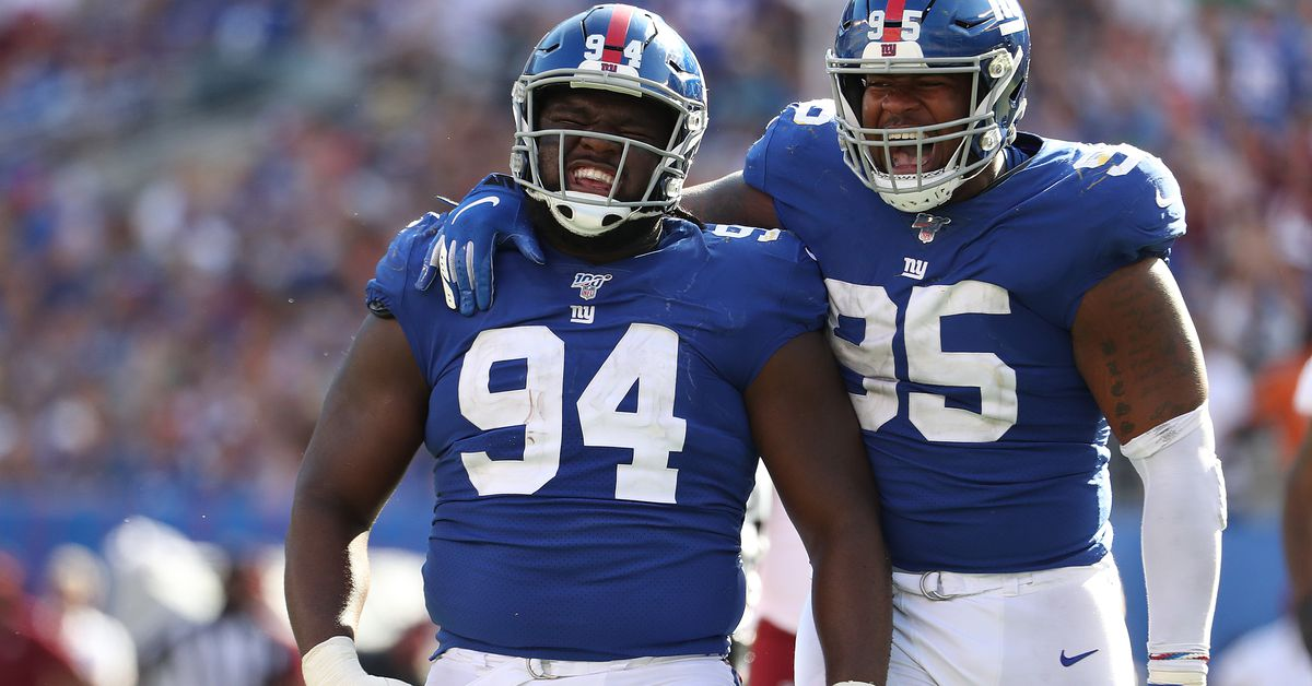 Giants position review: Defensive line was a strength in 2019, but there are questions