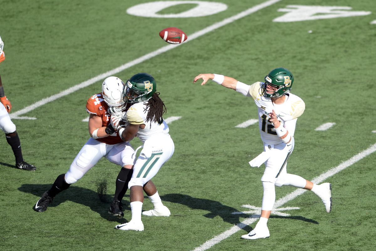 COLLEGE FOOTBALL: OCT 13 Baylor at Texas